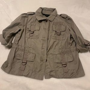 Vintage Calvin Klein Jeans Army Jacket